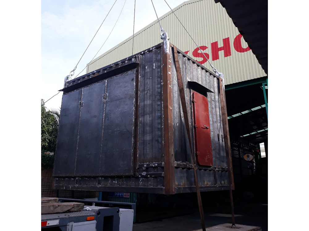 Fabricate TRANSFORMER SUBSTATION CONTAINER